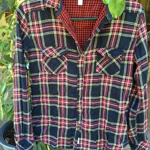 Springfield shirt plaid  long sleeves soft flannel